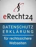 erecht24 siegel datenschutzerklaerung blau Kopie 1 - Datenschutz