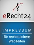 erecht24 siegel impressum blau Kopie 1 - Impressum